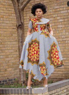 Beautiful and Trendy Ankara Styles You Should See - Stylish Naija Ankara Short Gown Styles, Trendy Ankara Styles, Short Gowns, African Style, Style Inspiration, Stylish, Creative, How To Wear, Beautiful
