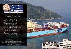 Soluções em: Importação, Exportação, Armazenagem, Distribuição e Transportes