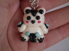 League of Legends Volibear necklace Volibear by LittlePandahugs