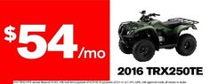 New 2016 Honda FourTrax Recon ATVs For Sale in Michigan. 2016 Honda FourTrax Recon, Every craftsman knows that if you use the right tool for the job, life is a lot easier. But that s a secret plenty of people forget when they re looking at utility ATVs. Bigger isn t always better, but it is usually more expensive and that is why the Honda Recon is going to be the smartest choice lots of ATV riders will ever make. Why? You see the Recon is a powerful, versatile, rugged ATV with a smaller…