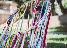 Cortina sensorial: ciranda de cores | Massacuca