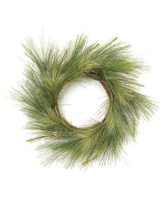 Take a look at this Green Pine Wreath by Melrose on #zulily today!