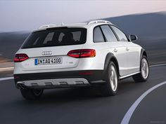 2013 Audi A4 Allroad Quattro, nice looking tail section.