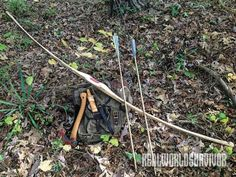Grab your knife and hatchet and learn how to craft your own survival bow and arrows.