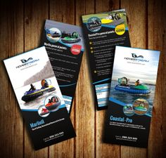 Gorgeous Examples Of Rack Card Designs Pinterest Brochures - Rack card design template
