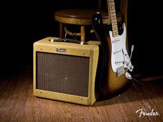 Music Wallpaper: Fender - Amplifier and Guitar Fender Stratocaster Sunburst, Fender Guitar Amps, Acoustic Guitar, Micro Chant, Sundays Child, Piano, Creative Sound, Fender Jaguar, Fender Deluxe