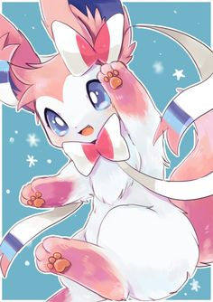 Don t lick Glaceon Pok mon Know Your Meme: Pokemon X And Y Images Cute Sylveon Hd Wallpaper And. Gif Pokemon, Pokemon Eeveelutions, Eevee Evolutions, Pokemon Fan Art, Pokemon Fusion, Chibi Kawaii, Anime Kawaii, Kawaii Drawings