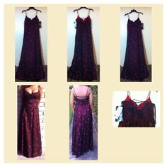 Morgan & Co. Dresses & Skirts - NWT BLK/BGY