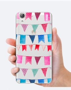 funda-movil-banderines Phone Cases, Watercolor, Collection, See Through, Mobile Cases, Initials, Pen And Wash, Watercolor Painting, Watercolour