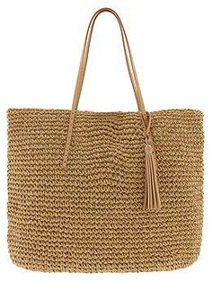 With summer fast approaching, mom will need a handy, yet trendy bag to take to the beach. Try this Natural Straw Tote from Banana Republic!