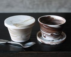 These handmade espresso cups are created with a unique combination of high quality porcelain ceramic clays. Espresso And Cream, Espresso Cups, Coffee Cups, Ceramic Clay, Porcelain Ceramics, Color Swirl, Clays, Modern Ceramics, Hand Coloring