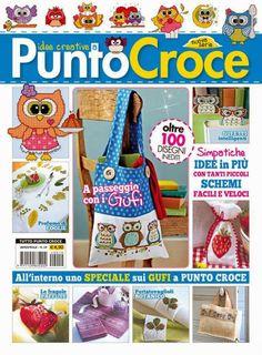 """SCHEMI PUNTO CROCE: edizioni ges srl """"riviste sul punto croce""""bellissi..."""