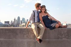 4 Stunning Locations for Kansas City Engagement Photos on Borrowed & Blue.  Photo Credit: Rita Clark Photography