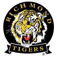 Richmond Tigers Logo | RICHMOND TIGERS VECTOR LOGO - Download at Vectorportal