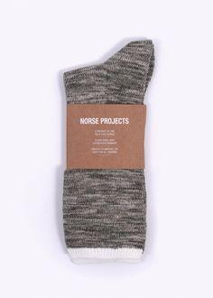 Norse Projects Bjarki Blend Socks - Fungi