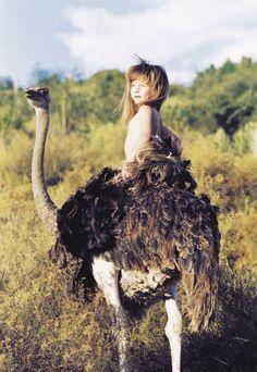 Tippi, la niña de la selva