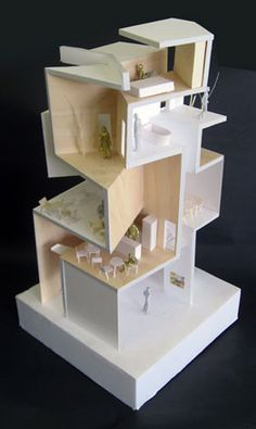 Model for Gallery S by Akihisa Hirata Architecture Office, Tokyo