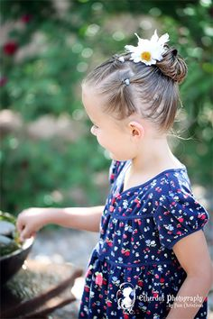 Pony Hairstyle for Your Daughter via