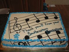 musical notes cakes | Music Note Cake | Flickr - Photo Sharing!