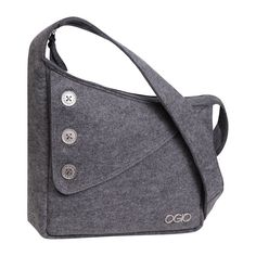 Ogio Brooklyn Purse (Light Grey Felt)