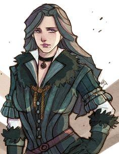 Yennefer of Vengerberg by YijiaChen.deviantart.com on @DeviantArt
