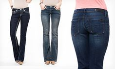 Groupon - Seven7 Women's Flare and Boot-Cut Jeans. in [missing {{location}} value]. Groupon deal price: $29.99