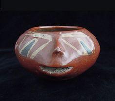 COUPE-PORTRAIT Culture Chupicuaro, État de Guanajuato, Mexique occidental Préclassique récent, 400-100 av. J.-C.