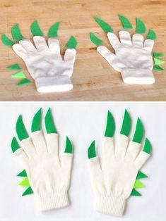 DIY Dragon Hands