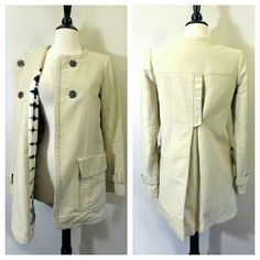 $1,072 A.L.C. Retro Silk Lined Trench Coat Should probably have a dry cleaning to remove wrinkles. Dry clean only. 100% cotton w/100% silk lining. Open to offers. A.L.C. Jackets & Coats Trench Coats
