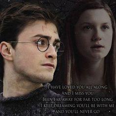 harry potter and the prisoner of azkaban harry Harry Potter Ginny Weasley, Harry And Ginny, Harry Potter Puns, Harry Potter Ships, Ron And Hermione, Harry Potter Cast, Harry Potter Love, Saga, Bonnie Wright