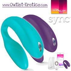Ha llegado el We Vibe Sync, el we vibe nº 5 de su historia, con más novedades y funciones clave que nunca: http://www.outlet-erotico.com/blog-erotico/214-we-vibe-sync-el-mejor-vibrador-para-parejas-del-mundo.html