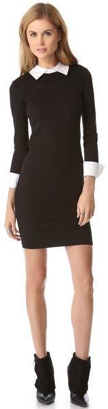 Black Cuff Dress