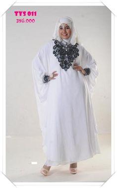 Gamis Kaftan bordir yang Cantik, Exclusive dan mempesona