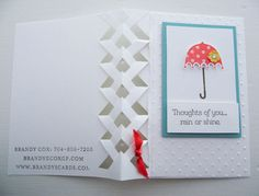 Stampin Up Rain or Shine Stamp Set