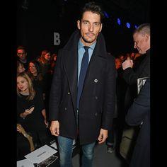 David Gandy Won London Fashion Week Day 1 With This Look | GQ