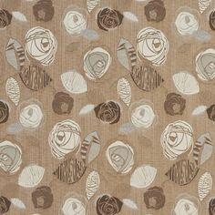 The K3198 LATTE BLOOM upholstery fabric by KOVI Fabrics features Floral, Foliage pattern and Beige or Tan or Taupe, Brown as its colors. It is a Damask or Jacquard type of upholstery fabric and it is made of 100% Woven polyester material. It is rated Exceeds 24,000 Double Rubs (Heavy Duty) which makes this upholstery fabric ideal for residential, commercial and hospitality upholstery projects. This upholstery fabric is 54 inches wide and is sold by the yard in 0.25 yard increments or by the…