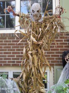 corn stalk - could do pumpkin head