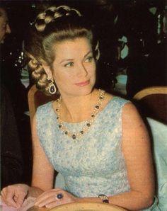 Grace and Family: Princess Grace at the Bal de la rose 1970. ©Frank Breit