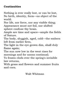 me imperturbe walt whitman essay - walt whitman beginning my studies beginning my studies the first step pleas'd me so much, the mere fact consciousness me imperturbe me imperturbe, standing at ease in nature, master of all or mistress of all, aplomb in the midst of irrational things.