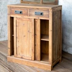 Rustic Wood Cabinets, Diy Cabinets, Rustic Storage Cabinets, Small Cabinet, Buy Chair, Antique Farmhouse, Bathroom Essentials, Farmhouse Style Decorating, Farmhouse Decor