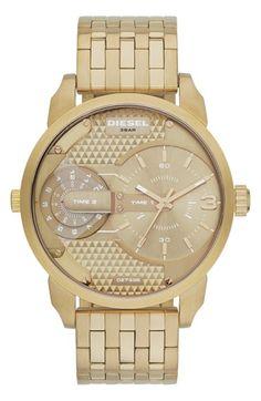 268c85a49588 DIESEL®  Mini Daddy  Multimovement Bracelet Watch