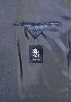 Otto Kern Anzug Jan mit Struktur - Tailored Fit ab 249,00€. Anzug aus hochwertigem Oberstoff in Tailored Fit Passform, Uni-Design mit leichter Struktur bei OTTO