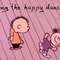 cute happy dance. #ad