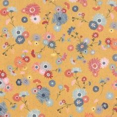 Mon Ami cotton fabric by Basic Grey for Moda Fabric 30411 15 This listing is for one yard of fabric inches Or yard inches When you purchase more than a yard, it will be cut as one continuous piece from the bolt. Cotton Quilts, Cotton Fabric, Colette Patterns, Yellow Fabric, Basic Grey, Quilt Patterns, Handmade Items, Kids Rugs, Crafty