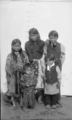 Children of Quanah Parker-comanche 1892.