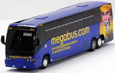 1/64 Scale bus