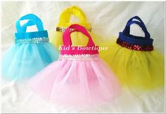 Barbie - another sewing project!  Princess/ Cinderella purses for little girls.