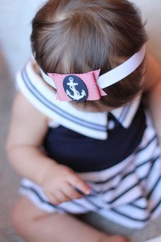 Nautical Anchor Headband