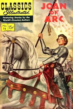 dell illustrated comics..there is how i learned a great deal of history..