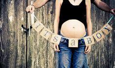 Ideias criativas para anunciar o sexo do bebê. Inspire-se! #baby #gravidez